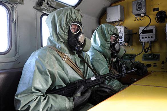 ВРФ на100% ликвидированы запасы боевого отравляющего газа зарин