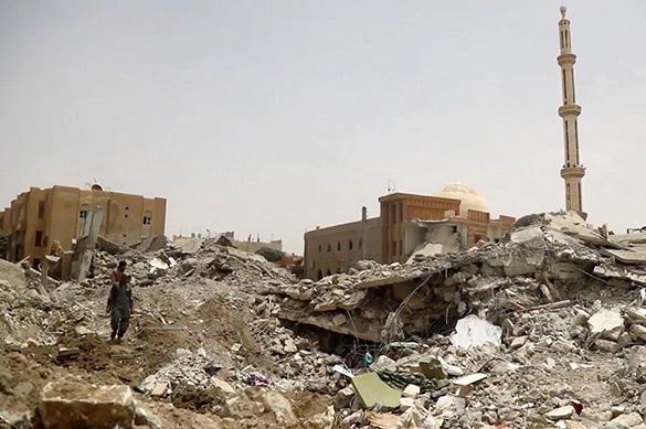 Сирийский город Эс-Сухна освобожден от террористов. Сирийский город Эс-Сухна освобожден от террористов