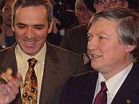 Каспаров и Карпов сойдутся в шахматном поединке в Ипании