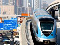 Дубай открывает первое в странах Персидского залива метро