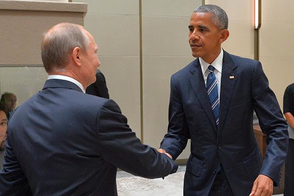 Путин и Обама проводят встречу на полях G20
