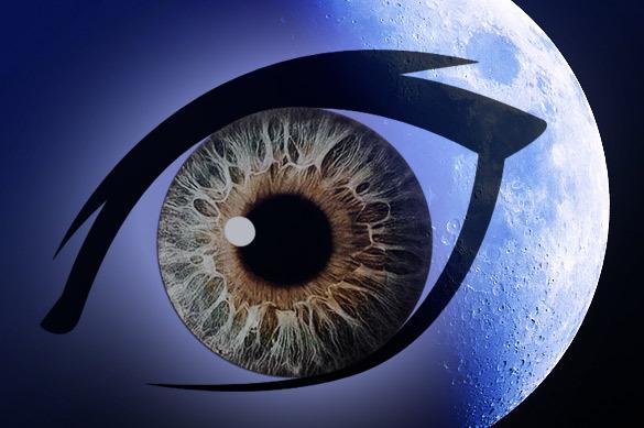 Уфологи увидели на Луне глаз бога Ра