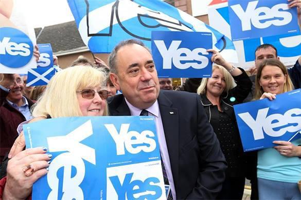 Большинство британцев считают, что Шотландия станет независимой. референдум о независимости Шотландии