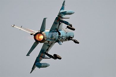 В Хаме разбился самолет сирийских ВВС