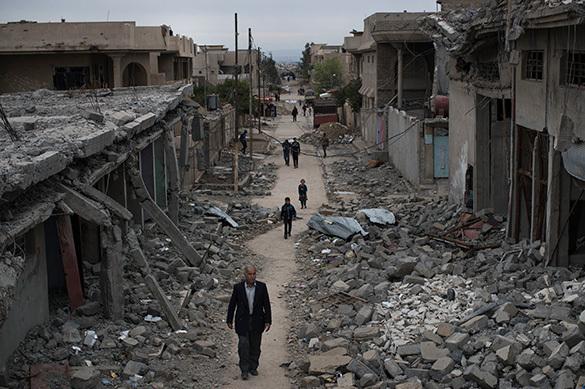 Мирных жителей в Мосуле расстреляли за попытку выйти из города