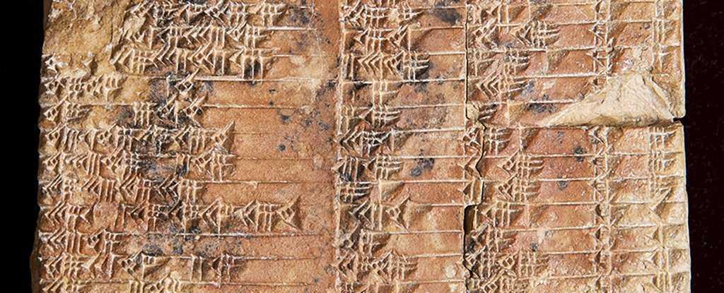 На вавилонской глиняной табличке нашли аналог тригонометрической таблицы. На вавилонской глиняной табличке нашли аналог тригонометрической