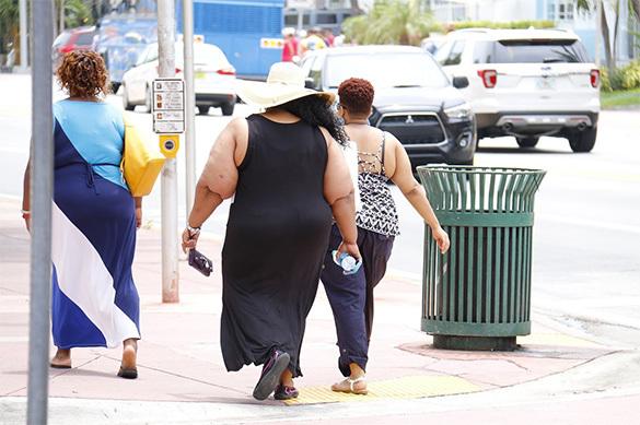 США и Мексика оказались странами толстяков