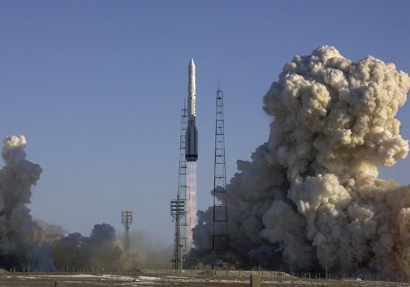 Ракета Союз-СТ-А стартовала с космодрома Куру