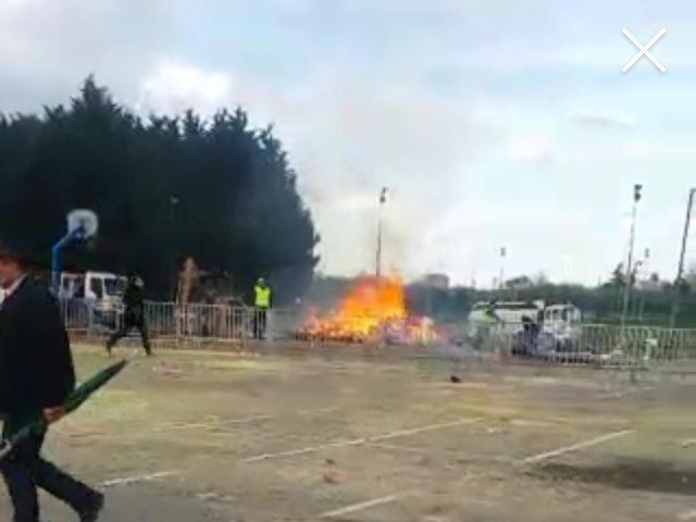 ВоФранции впроцессе карнавала произошел взрыв, есть раненые