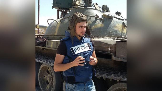 Сирийский журналист погиб при обстреле террористов. Сирийский журналист погиб при обстреле террористов