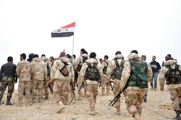 Сирийская армия разгромила группировку ИГ*  у города Ганем-Али. 374677.jpeg