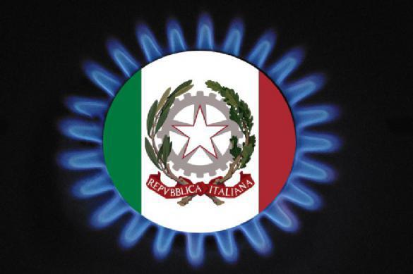Без РФ Италии хватит газа только надве недели