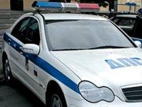 На МКАД перевернулась машина ГИБДД, погиб автоинспектор