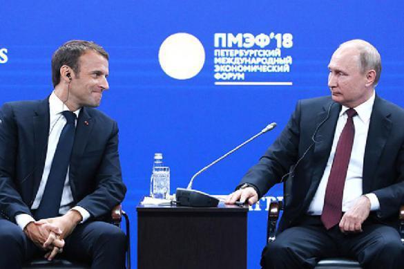 Макрон и Путин обсудили Керченский кризис и ситуацию в Сирии. 396679.jpeg