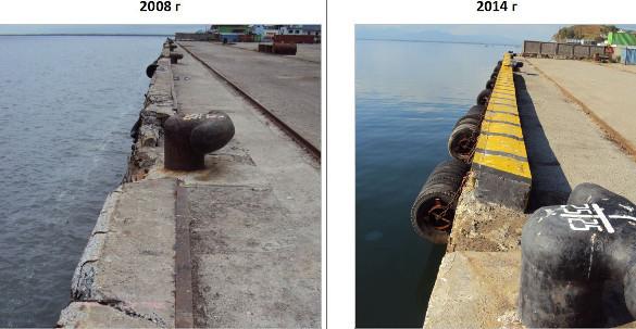 В рыбных портах -