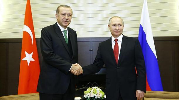 Путин обсудил сЭрдоганом строительство «Турецкого потока»