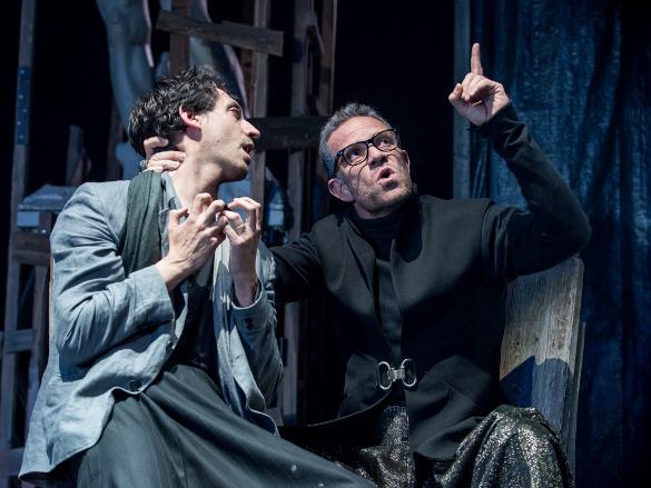 Театр Гешер: Укрощение строптивой истории о царе Давиде