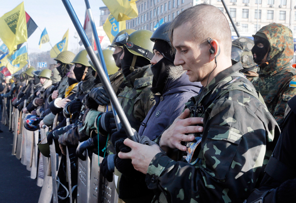 Глава Украины под прицелом