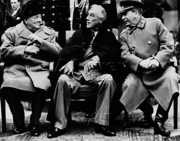 Уроки Ялты: 70 лет спустя. Лидеры стран антигитлеровской коалиции
