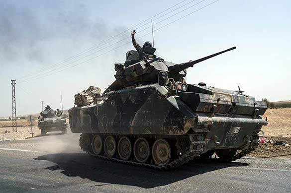 Турция взяла под контроль территорию курдов