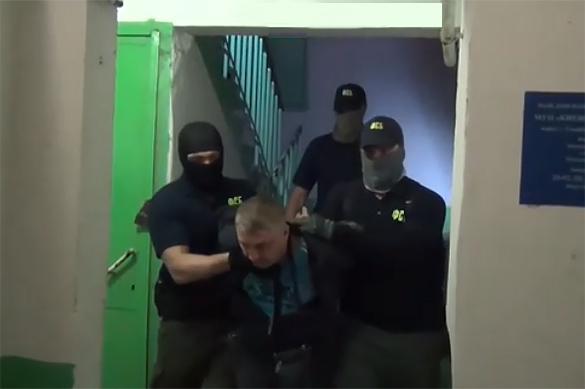 Винтернете появилось видео задержания украинских шпионов вКрыму