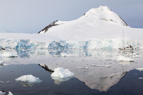 91 вулкан найден  подо льдами Антарктиды