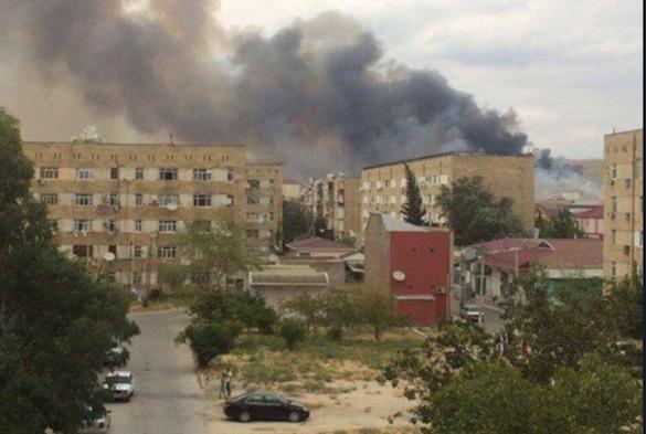 МЧС Азербайджана сообщило об отсутствии угрозы после взрыва на оружейном складе. 374686.jpeg