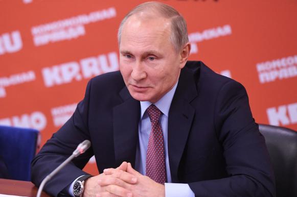 Путин о конкурентах: большое количество претендентов — это полезно. Путин о конкурентах: большое количество претендентов — это полез