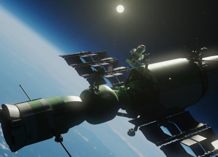 Орбитальная пилотируемая станция Алмаз