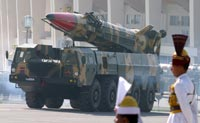 Третий пуск индийской наземной ракеты
