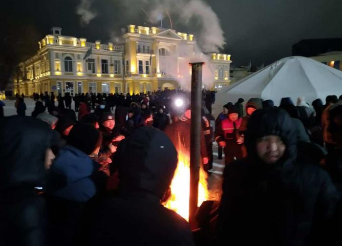 Кишиневские пенсионеры протестуют против повышения цен