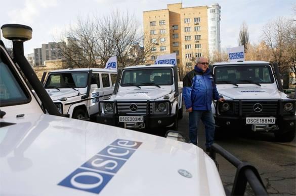 Беспилотник ОБСЕ подстрелили в Донбассе