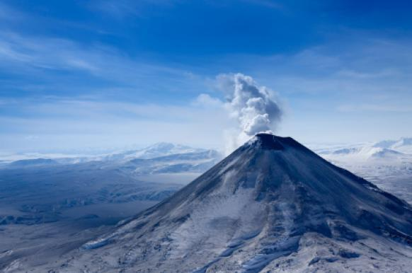 На Камчатке ожидается мощное извержение вулкана.