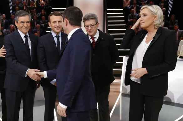 Во Франции прошли первые дебаты кандидатов
