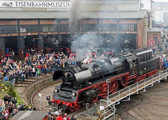 В Дрездене прошел железнодорожный фестиваль. В Дрездене прошла встреча паровозов