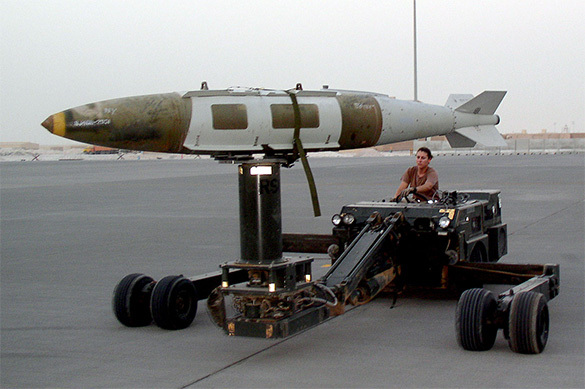 США ударили по Афганистану матерью всех бомб