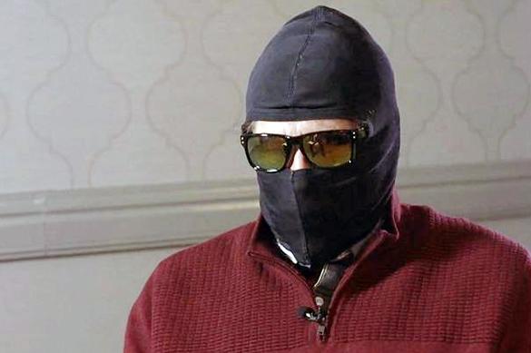 Родченков спрятался под маской, давая