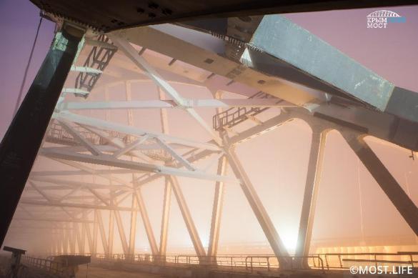 Крымский супермост готовят к срочному запуску. крымский мост