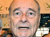 Жака Ширака и его белую болонку не пустили в казино. chirac