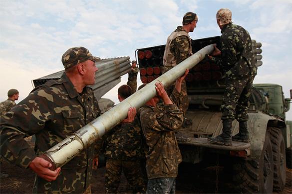 Ополченцы грозятся взять Киев. ополченцы