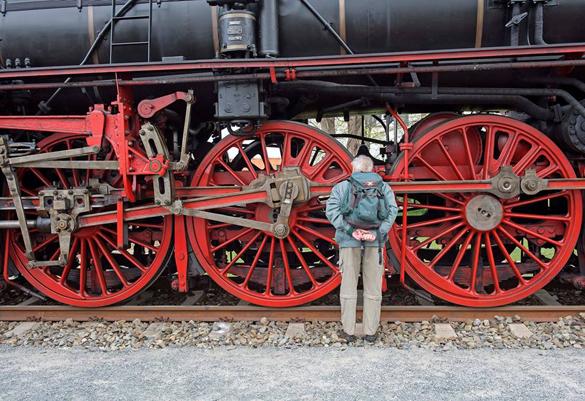 В Дрездене прошел железнодорожный фестиваль. Дрезден принял железнодорожный фестиваль
