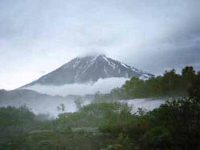 На Камчатке активизировался вулкан Корякский