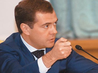 Медведев поручил создать пять федеральных университетов