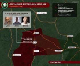 Армия ЦАР очистила от боевиков место убийства журналистов из России. 409695.jpeg