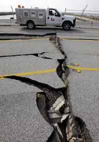 Землетрясение в Италии. В стране введен режим ЧП