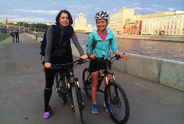 Велосипедистки Москвы