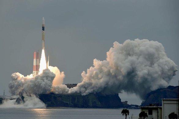 Япония провела запуск ракеты соспутником связи Michibiki