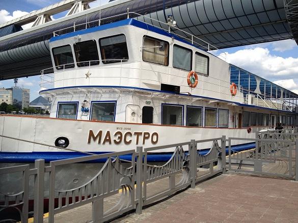 Концерты-прогулки по Москве-реке