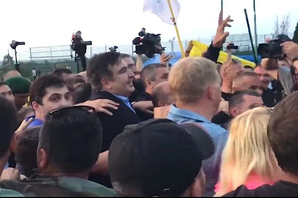 """""""Атака на государственность""""— как власти Украины оценили """"прорыв Саакашвили"""". 375698.jpeg"""
