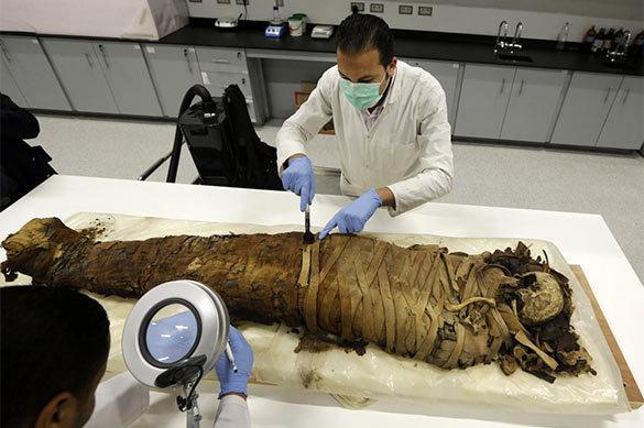 Мумия древнеегипетской танцовщицы высшей касты обнаружена в Иеру